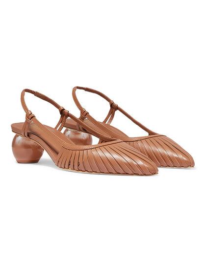 Alia Leather Mules