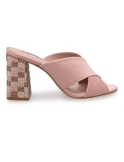 Lilah High Box Heel Sandals