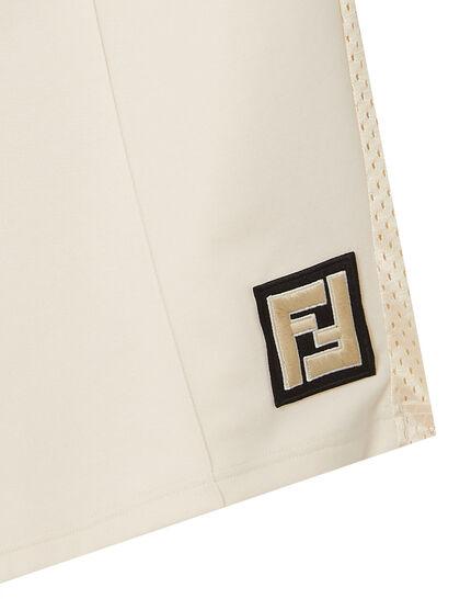Ff Logo Bi Material Active Sweatshorts