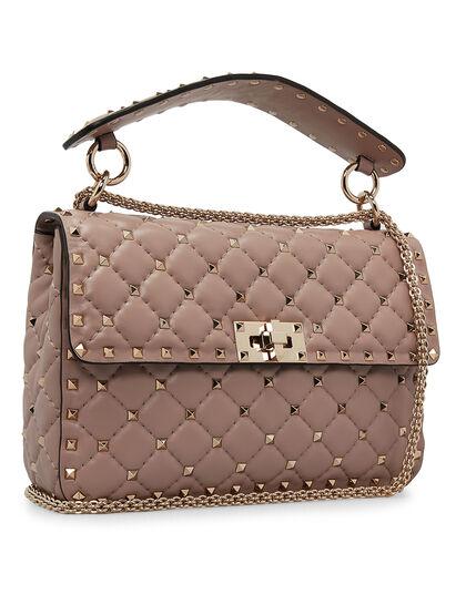 Rockstud Spike Shoulder Bag