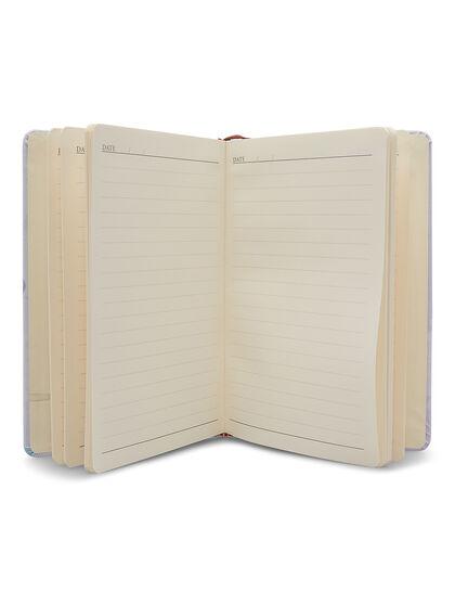 A5 Unicorn Notebook Single Line Sheets Ribbon Bookmark Elastic Band