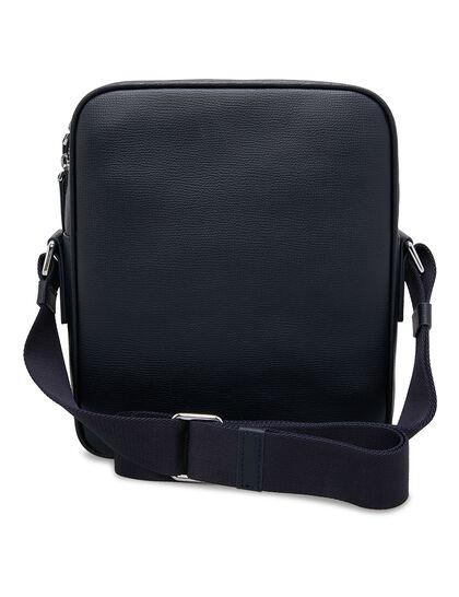 Award Messenger Bag - Italian Leather Navy Blue