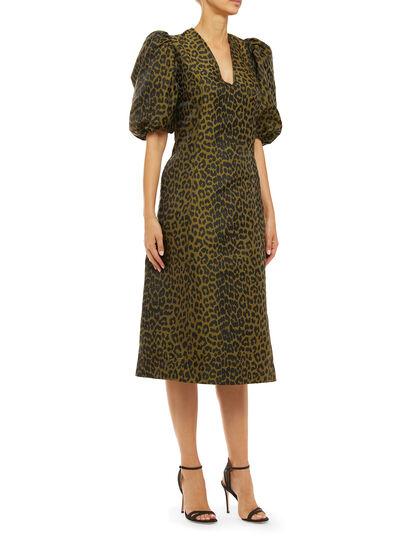 Crispy Jacquard Dress