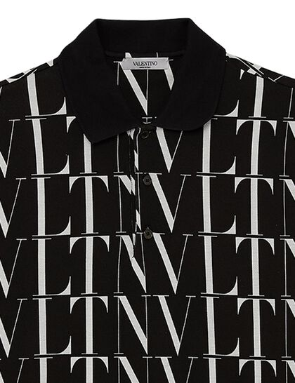 All-Over VTLN Polo T-Shirt