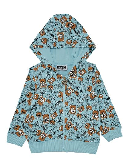Tracksuit Jacket All Over Teddy Bear