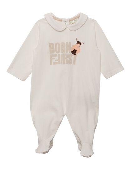Born First Cotton Romper