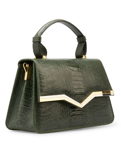Freya Snake Top Handle Bag