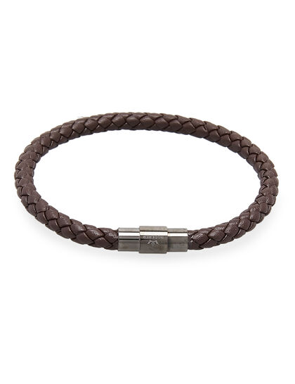 Grained Leather Bracelet