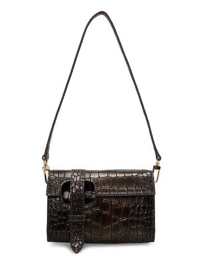 Wallet Bag In Croc Effect In Star Walk