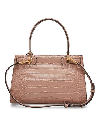 Lee Radziwill Embossed Small Bag