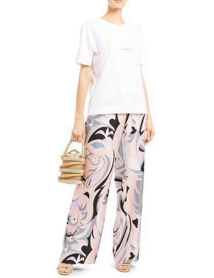 Geometric Printed Trousers