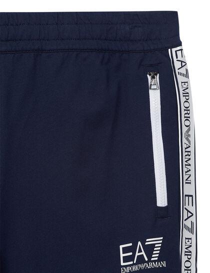 Train Logo Series M Tape Sweatpants