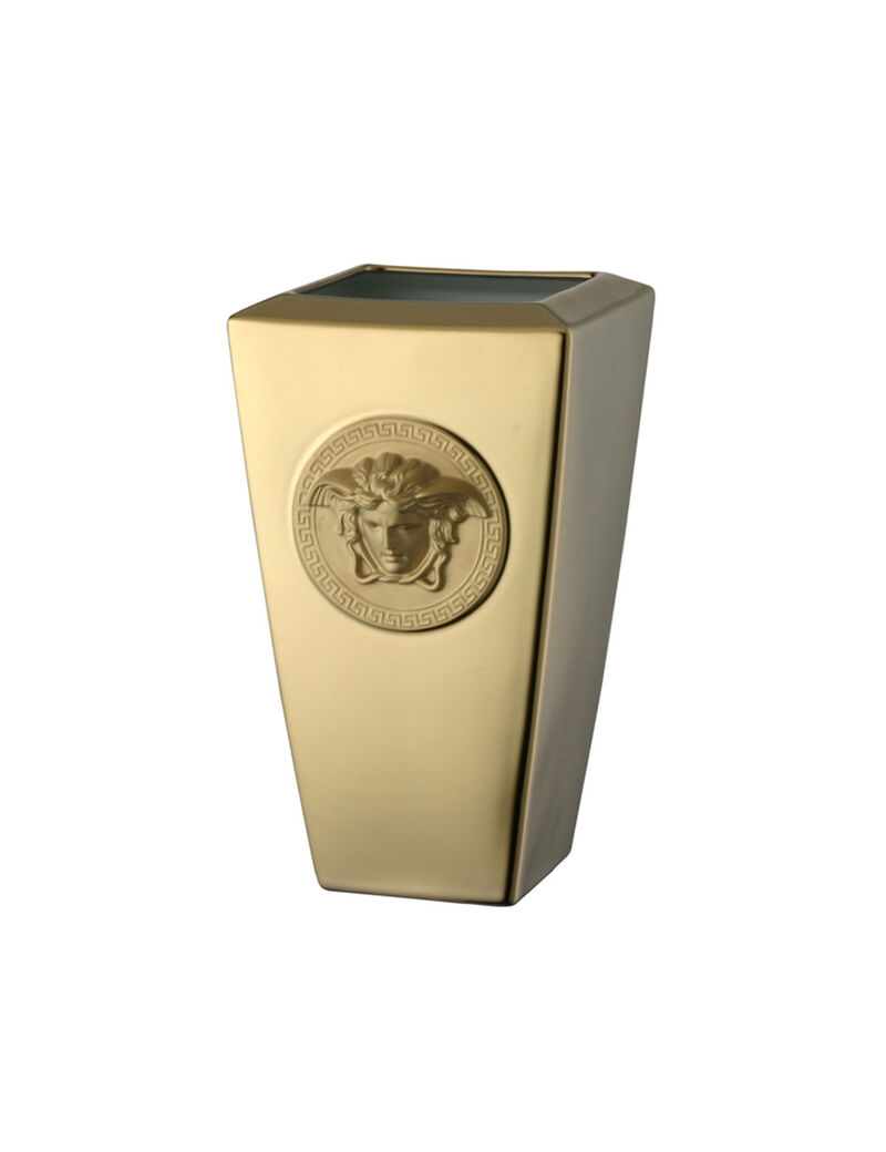 Rol Versace Medusa Gold Vase Gol 24cm