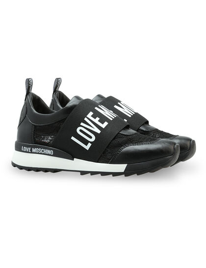 Logo Slip-On Sneakers