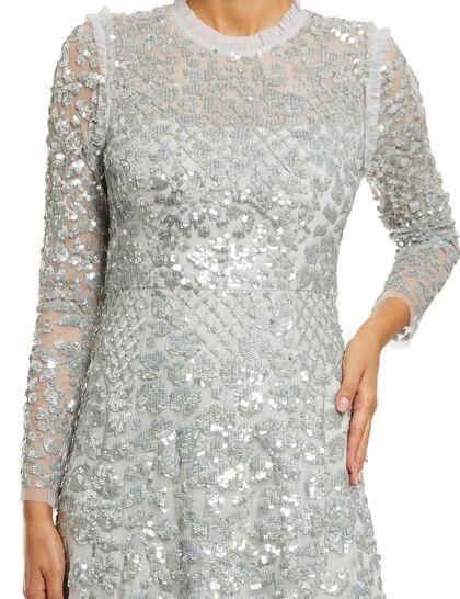 Aurelia Long Sleeve Gown