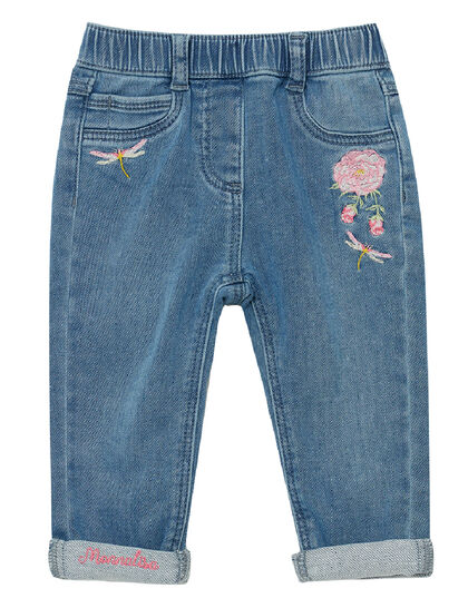 Rose Denim Jeans