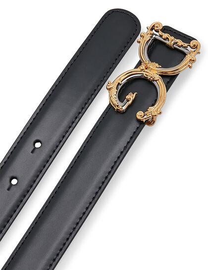 Calfskin Belt - Black