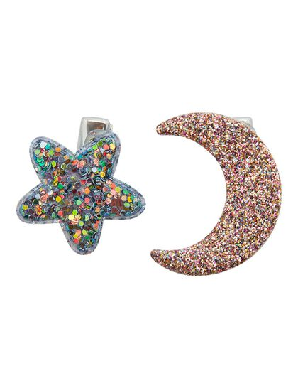 New Midnight Glitter Clips