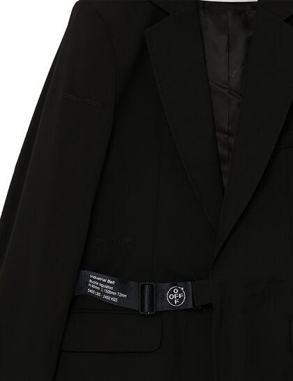 Strap Fastening Blazer - Black