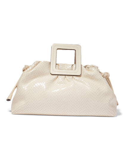 Croc-Embossed Shirley Carryall Bag