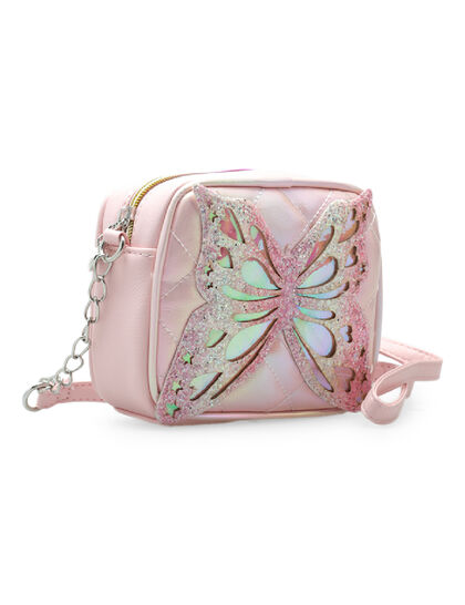 Miss Butterfly Quilted Crossbody
