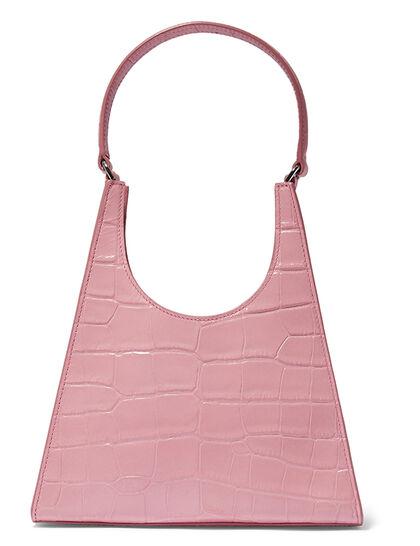 Rey Croco Leather Bag