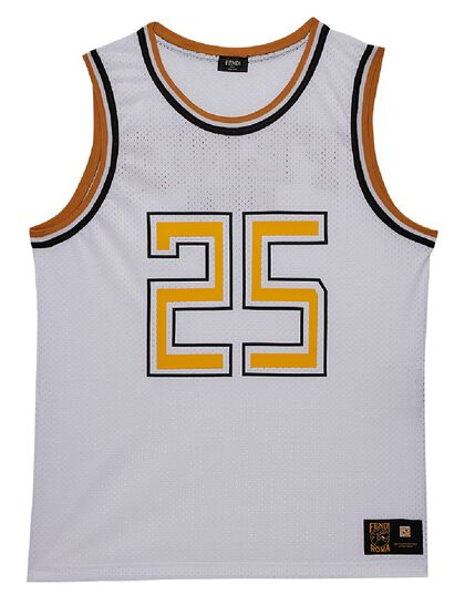 Basketball Tank Top - White