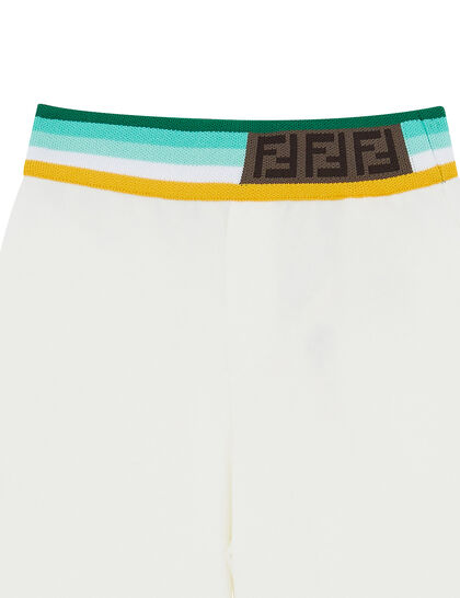 Stripe Waistband Shorts
