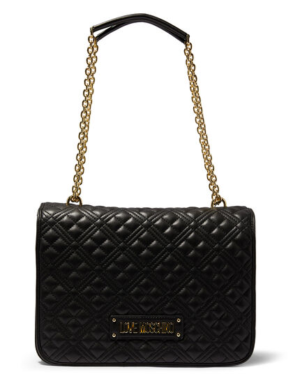 Large Quilted Shoulder Bag