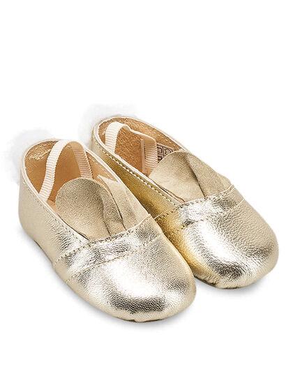 Ballerina Leather Platinum