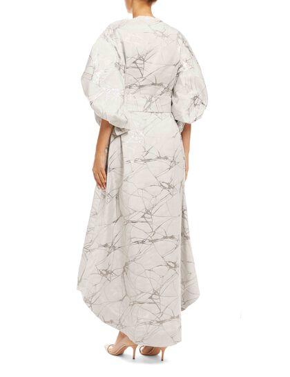 Jacquard Maxi Dress