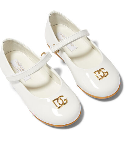 DG Detail Patent Leather Sneakers