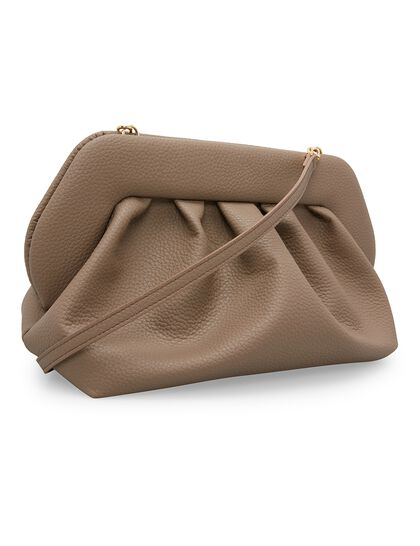 Bios Grained Clutch Bag