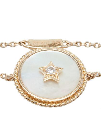 Diamond In Star On Emirati Mother Of Pearl Base