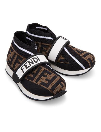 FF Logo Slip-On Sneakers